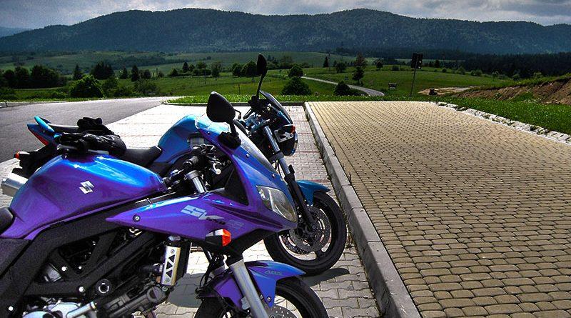 Bieszczady na motocyklu 2010