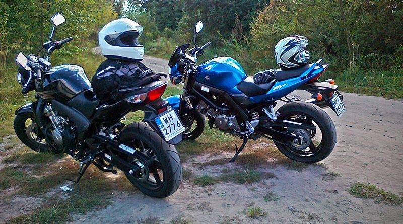 Wlodawa na motocyklu