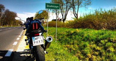 Drohiczyn na motocyklu
