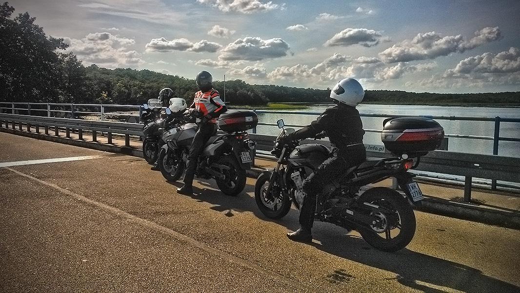 Okoń w Kruklankach na moto