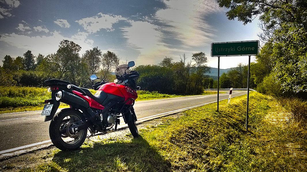 Bieszczady na motocyklu we wrześniu
