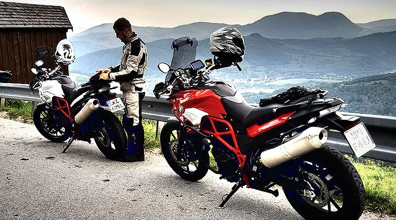 Motocyklem po Słowacji
