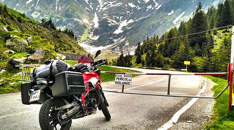 Rumunia na motocyklu